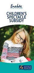 Spectacles Subsidy Brochure Image